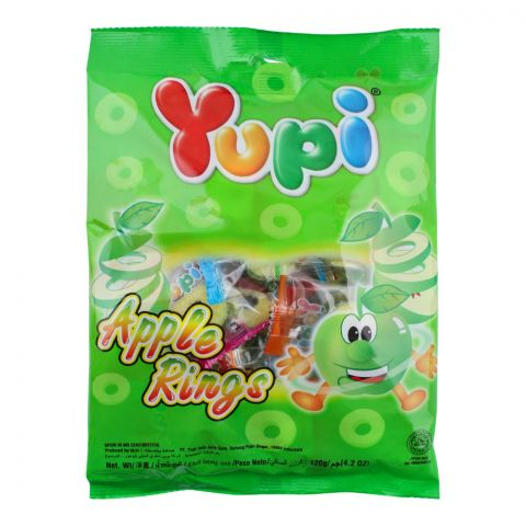 Yupi Apple Rings Gummy, 120g