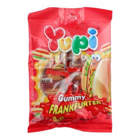 Yupi Gummy Frankfurter, 96g