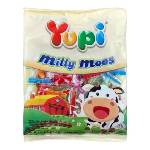 Yupi Milly Moos Gummy, 120g
