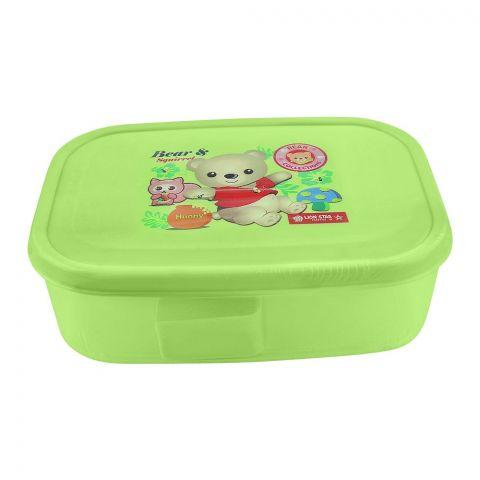 Lion Star Bela Lunch Box, Green, 6x4x1.5 Inches, MC-36