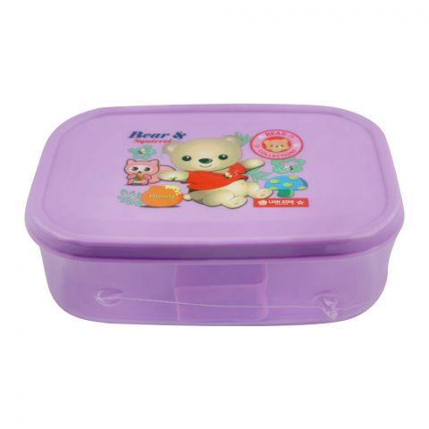 Lion Star Bela Lunch Box, Purple, 6x4x2 Inches, MC-36