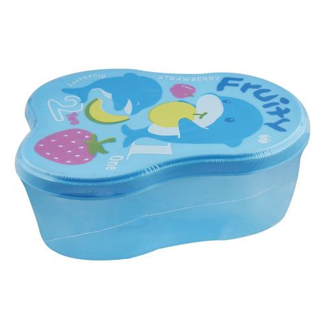 Lion Star Berry Lunch Box, Blue, 5x3x2 Inches, MC-8