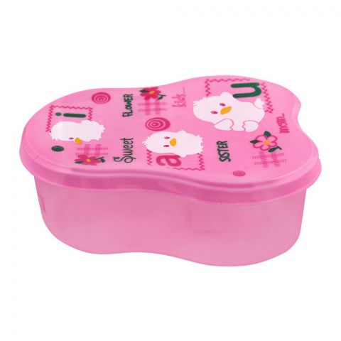 Lion Star Berry Lunch Box, Pink, 5x2 Inches, MC-8