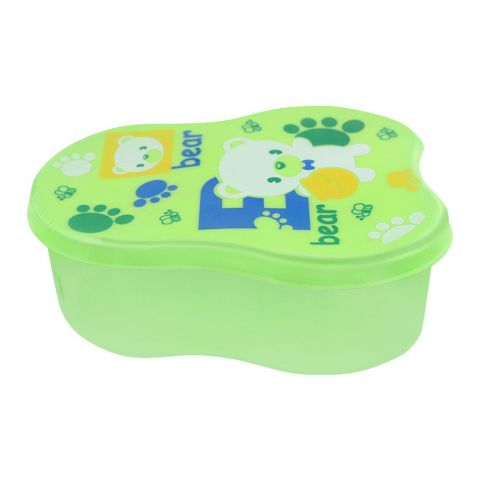 Lion Star Berry Lunch Box, Green, 5x3x2 Inches, MC-8