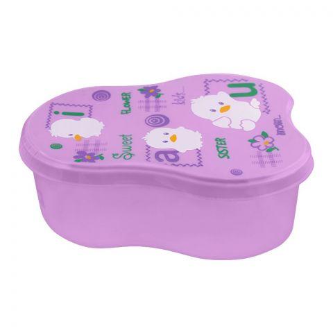 Lion Star Berry Lunch Box, Purple, 5x3x1.5 Inches, MC-8