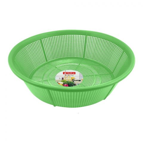 Lion Star Basin Strainer, 28cm, 11 Inches Diameter, Green, BA-34