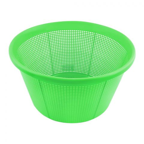 Lion Star Round Basket, 9.5x6 Inches, Green, BW-3