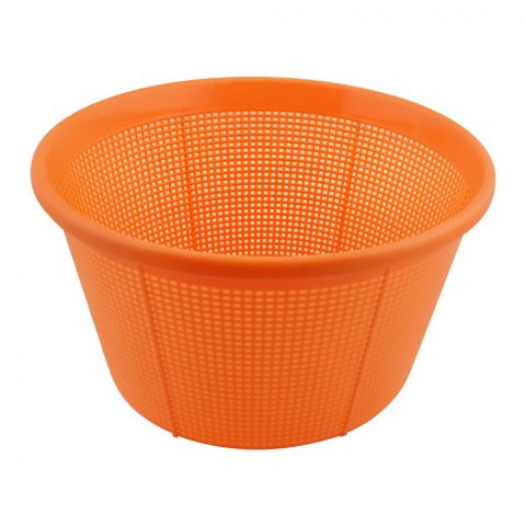 Lion Star Round Basket, Orange, 9.5 Inches Diameter, BW-3