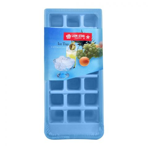 Lion Star Ice Cubes Tray, 002 Blue, IT-6