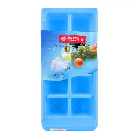 Lion Star Ice Cubes Tray, Blue, IT-7