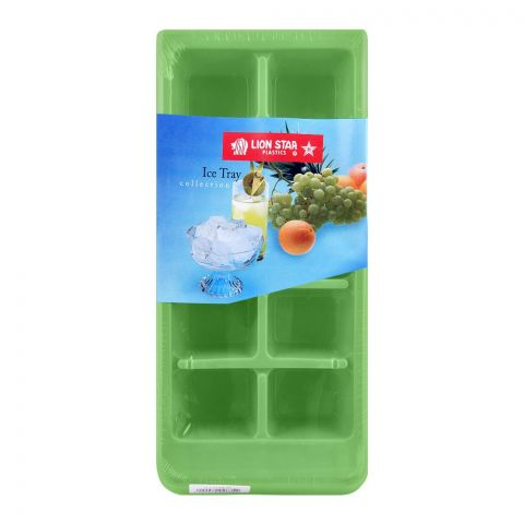 Lion Star Ice Cubes Tray, 003 Green, IT-7