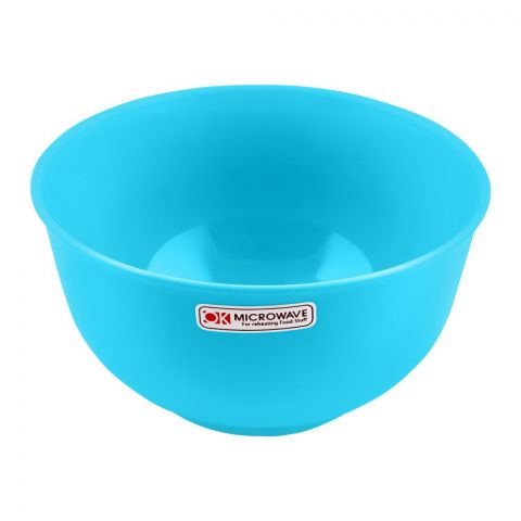 Lion Star Microwave Soup Bowl, Blue, 5 Inches Diameter, 530ml, MW-29