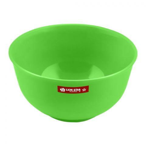 Lion Star Soup Bowl, Green, 530ml, 5 Inches Diameters, MW-29
