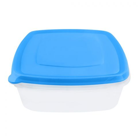 Lion Star Vitto Seal Ware Food Container, Blue, 8x8x2.5 Inches, 1500ml, VT-2