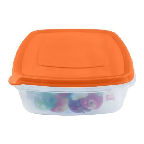 Lion Star Vitto Seal Ware Food Container, Orange, 1500ml, VT-2