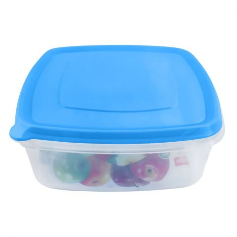 Lion Star Vitto Seal Ware Food Container, 3 Liters, 10x8x3.5 Inches, Blue, VT-3