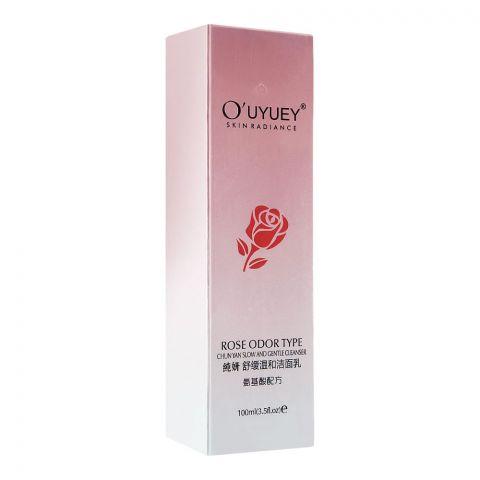 O'Uyuey Skin Radiance Rose Odor Type Gentle Cleanser, 100ml
