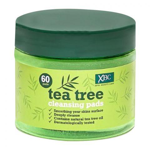 XBC Tea Tree Clearing Pad, 60-Pack
