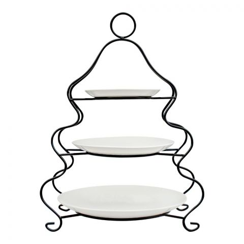 Brilliant 3-Layer Plate Set, With Iron Stand, BR0059