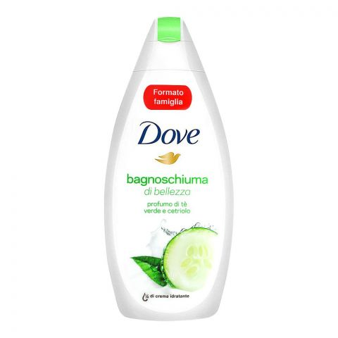 Dove Scent Of Green Tea And Cucumber Shower Gel, 700ml
