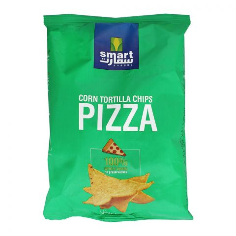Smart Snacks Corn Tortilla Chips, Pizza, 80g