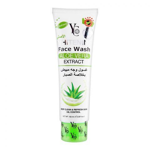 YC Whitening Aloe Vera Extract Face Wash, 100ml