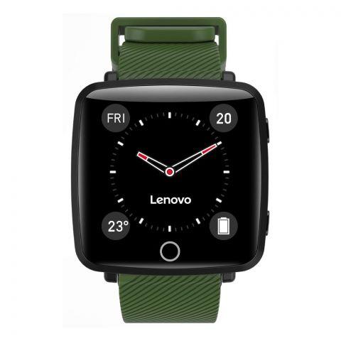 Lenovo Smart Watch, Carme Green, HW25P