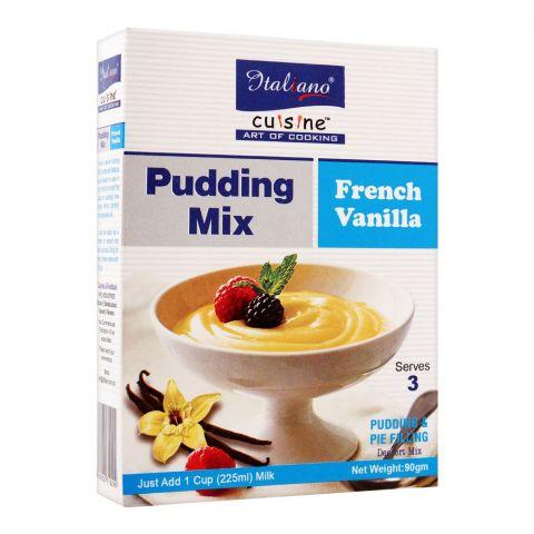 Italiano Pudding Mix, French Vanilla, 90g