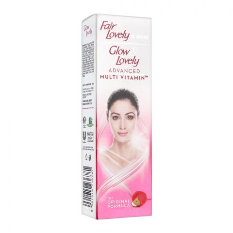 Fair & Lovely Is Now Glow & Lovely Insta Glow Face Wash, Original Formula, 25g