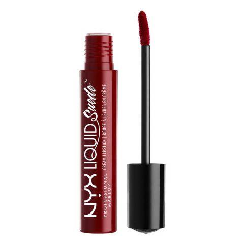 NYX Liquid Suede Cream Lipstick, 03 Cherry Skies