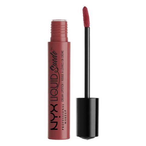 NYX Liquid Suede Cream Lipstick, 04 Soft-Spoken