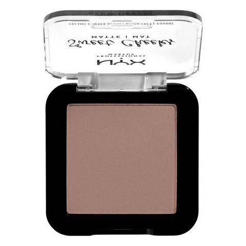 NYX Sweet Cheeks Creamy Powder Matte Blush, So Taupe