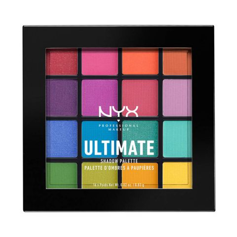 NYX Ultimate Eyeshadow Palette, 04 Brights