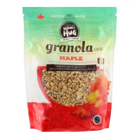 Nature's Hug Granola Cereal, Maple, 330g