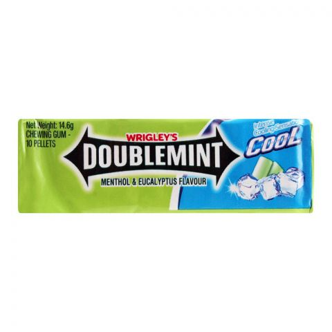Wrigley' s Double Mint Cool Chewing Gum, 14.6g