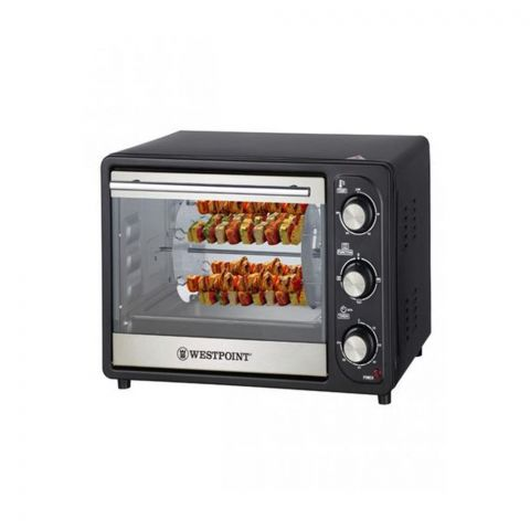 West Point Deluxe Rotisserie Oven With Kebab Grill, 24 Liters, 1380W, WF-2310RK
