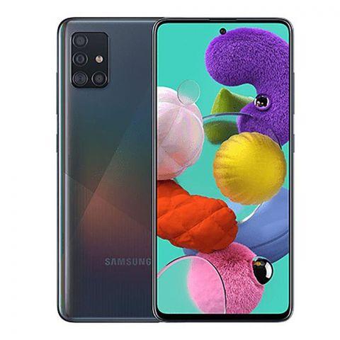 Samsung Galaxy A51 8GB/128GB Prism Crush Black Smartphone, SM-A515