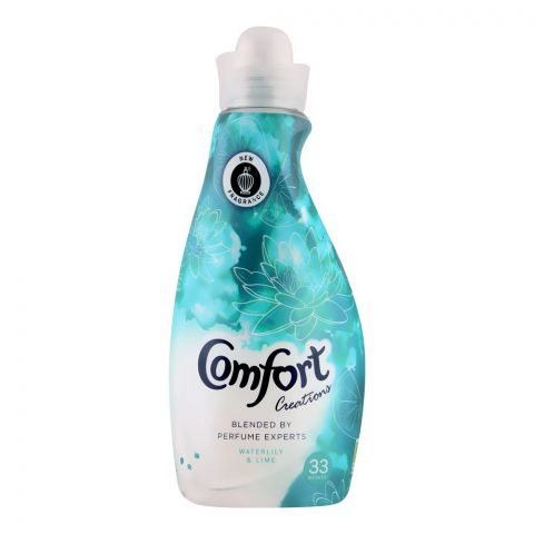 Comfort Creations Fabric Softener, Water Lilly & Lime, 1.16 Liters
