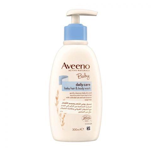 Aveeno Baby Daily Care Baby Hair & Body Wash, 300ml