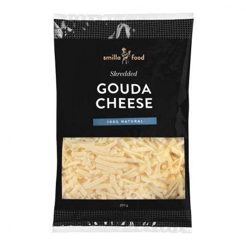Smilla Food Gouda Cheese, Shredded, 200g