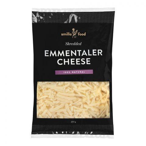 Smilla Food Emmentaler Cheese, Shredded, 200g