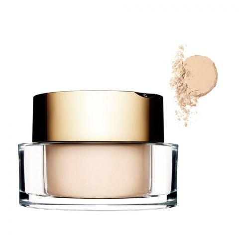 Clarins Paris Poudre Multi-Eclat Mineral Loose Powder, Translucent, Radiant Finish, 01 Light