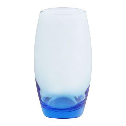 Pasabahce Barrel Tumbler Glass Set, 6 Pieces, Blue, 41020-73