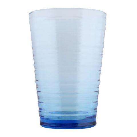 Pasabahce Granada Tumbler Glass Set, 6 Pieces, Blue, 420072-28