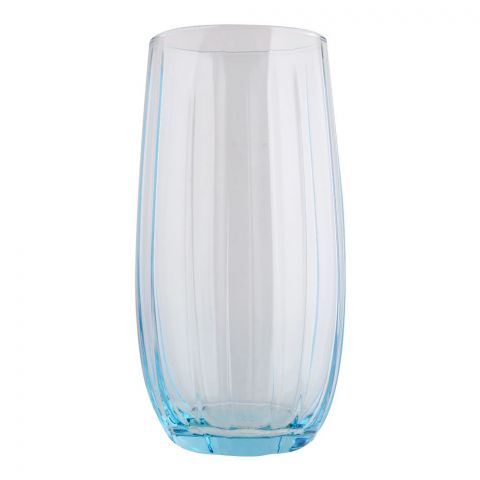 Pasabahce Linka Tumbler Glass Set, 6 Pieces, Turquoise, 420415-40