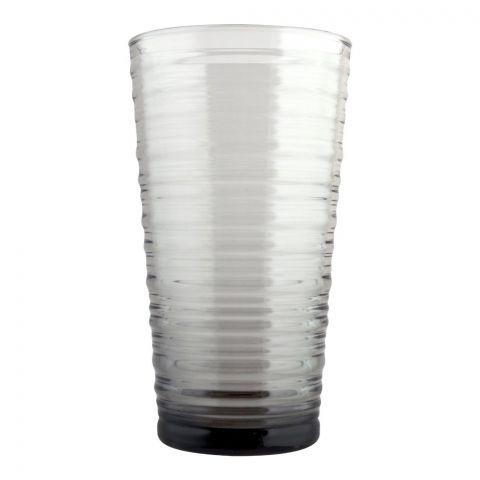 Pasabahce Granada Tumbler Glass Set, 6 Pieces, Grey, 420525-35