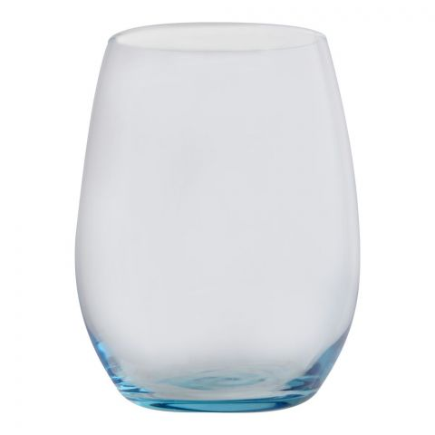 Pasabahce Amber Tumbler Glass Set, 6 Pieces, Turquoise, 420825-34