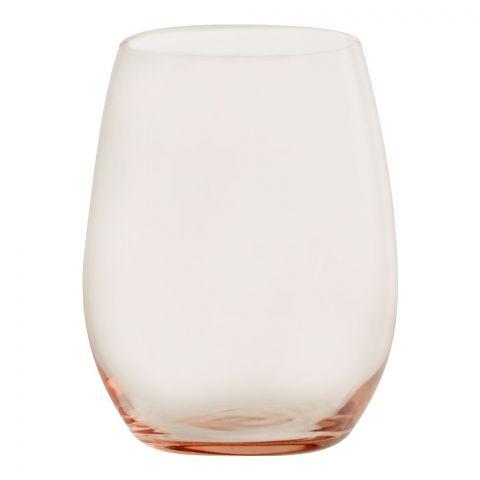Pasabahce Amber Tumbler Glass Set, 6 Pieces, Pink, 420825-66