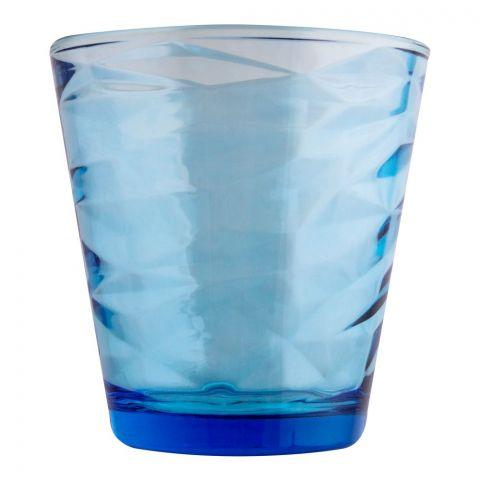 Pasabahce Origami Tumbler Glass Set, 6 Pieces, Blue, 52650-98