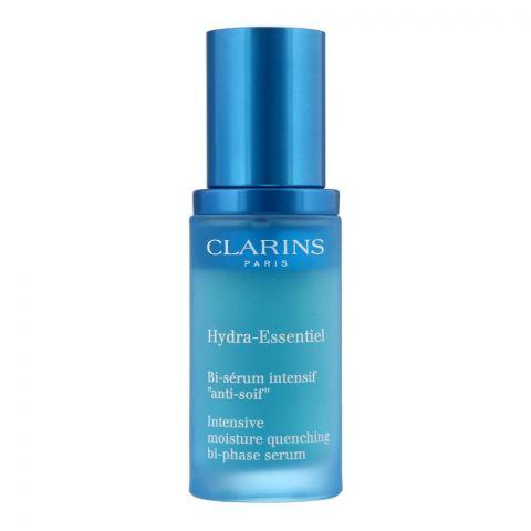 Clarins Paris Hydra-Essentiel Intensive Moisture Bi-Phase Serum, 30ml